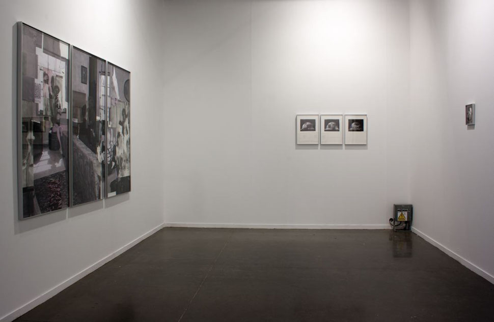 This is Not a Test. soloproject Drawing Up- Estampa 2014, Jose de la Fuente gallery. Installation view