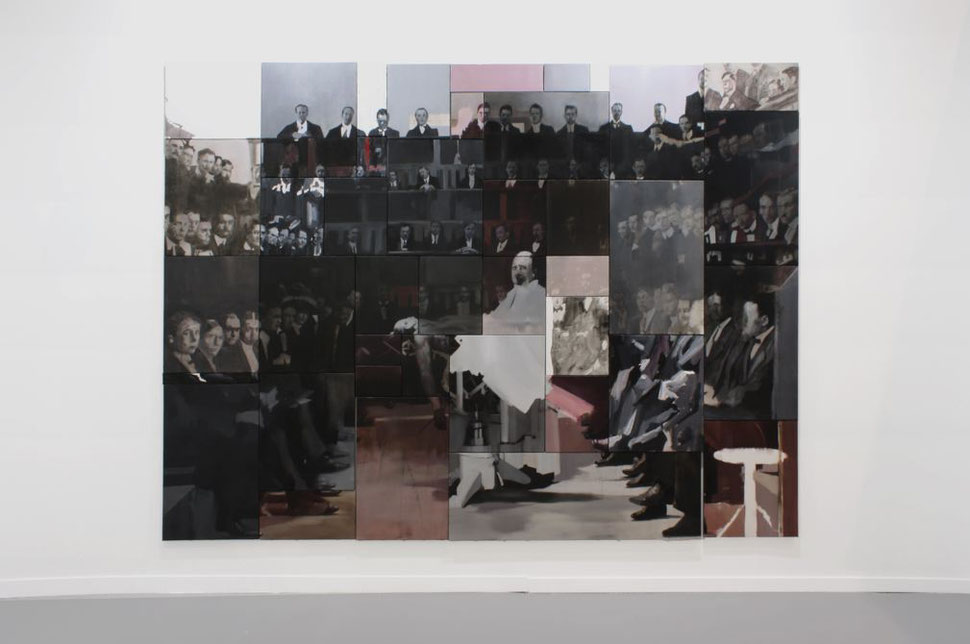 41 ways. Oil on canvas. Polyptych 230 x 340 cm. 2014. Nacho Martín Silva