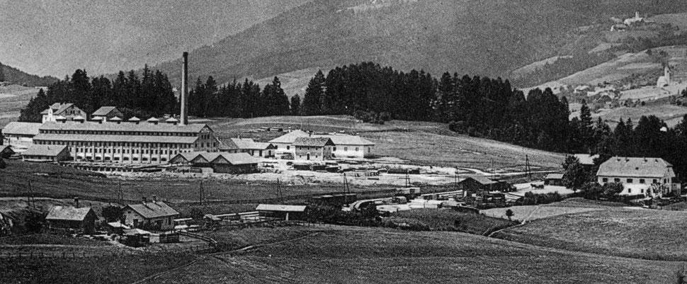 la prima fabbrica di mattoni in Val Pusteria