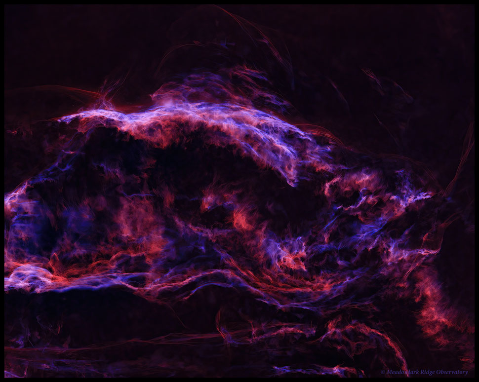 Sharpless 132 - Image by Bruce Bartle