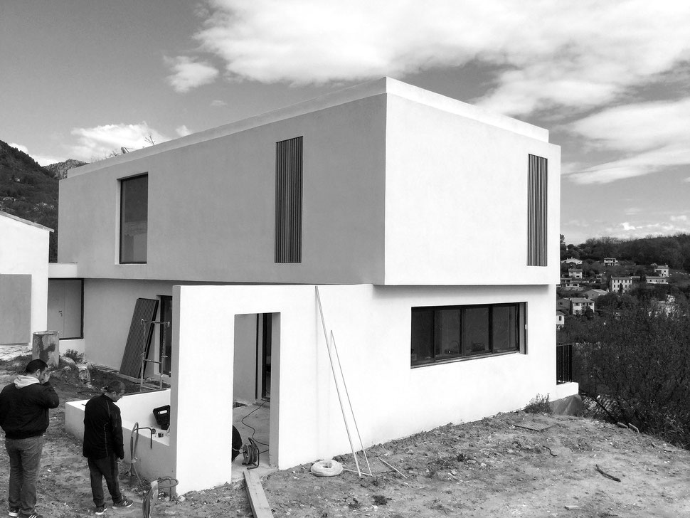 bertrand guillon architecture - architecture - architecte - marseille - vence - rénovation - extension - construction - maison contemporaine - chantier - PACA - villa - construction maison - maison d'architecte
