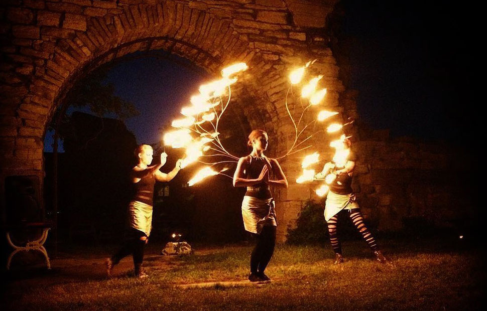 Feuershow Aus Ludwigsburg Zauberei Mentalmagie