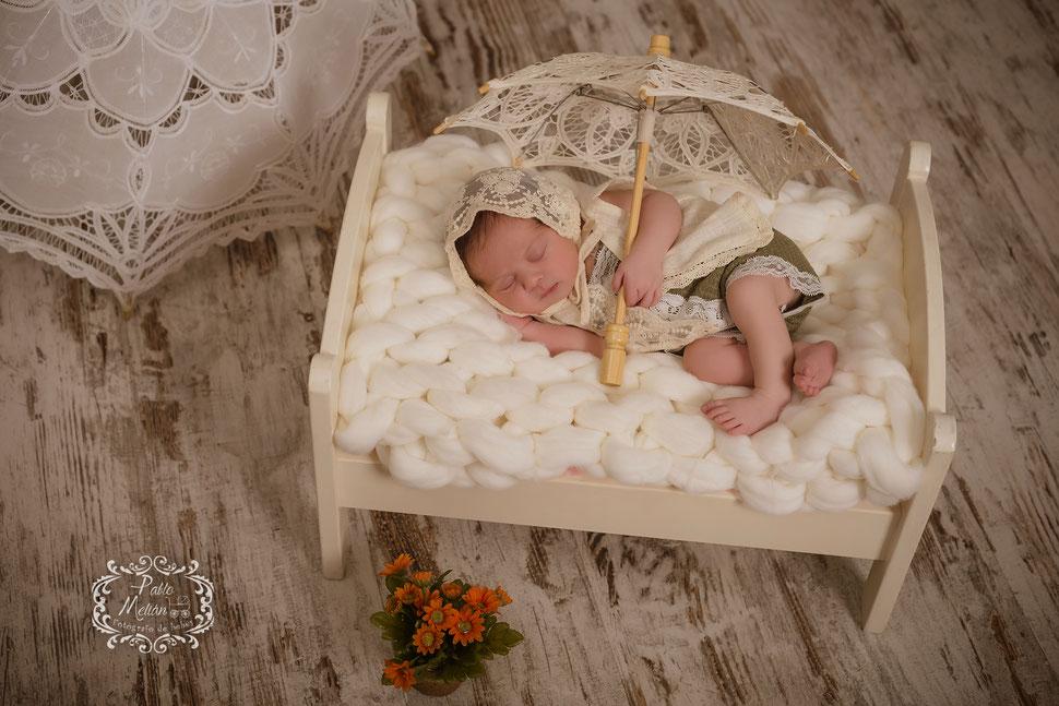 Estudio fotos para bebés recién nacidos en Tenerife newborn photo