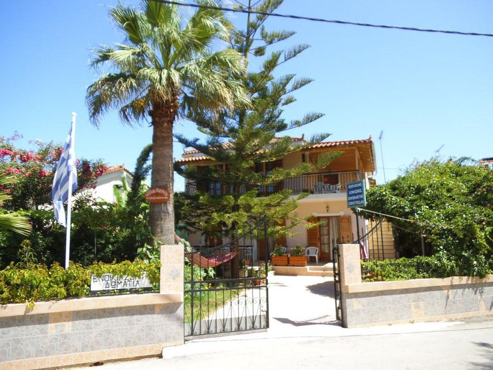 Villa Xenos - Studios & Apartmens , Kalamaki , Zakynthos Island , Greece.
