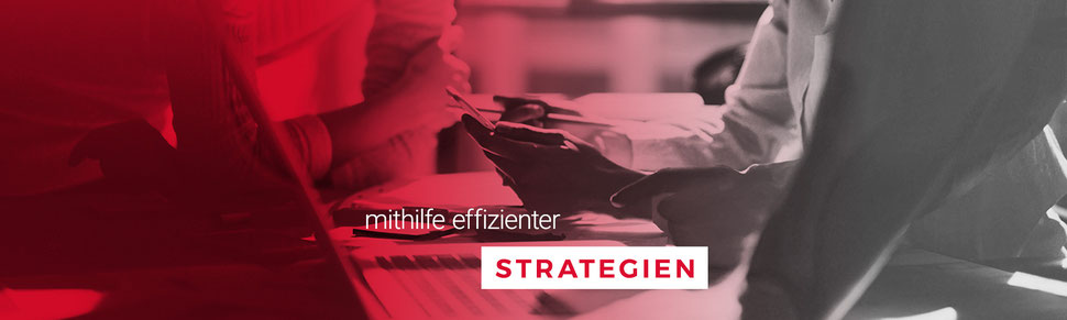 mithilfe effizienter Strategien