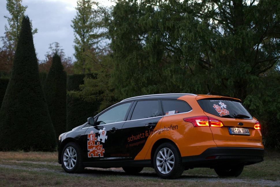 Auto-Design für die Firma Schuetz & Koenigshofen erstellt. Der Kunde ist sehr zufrieden.