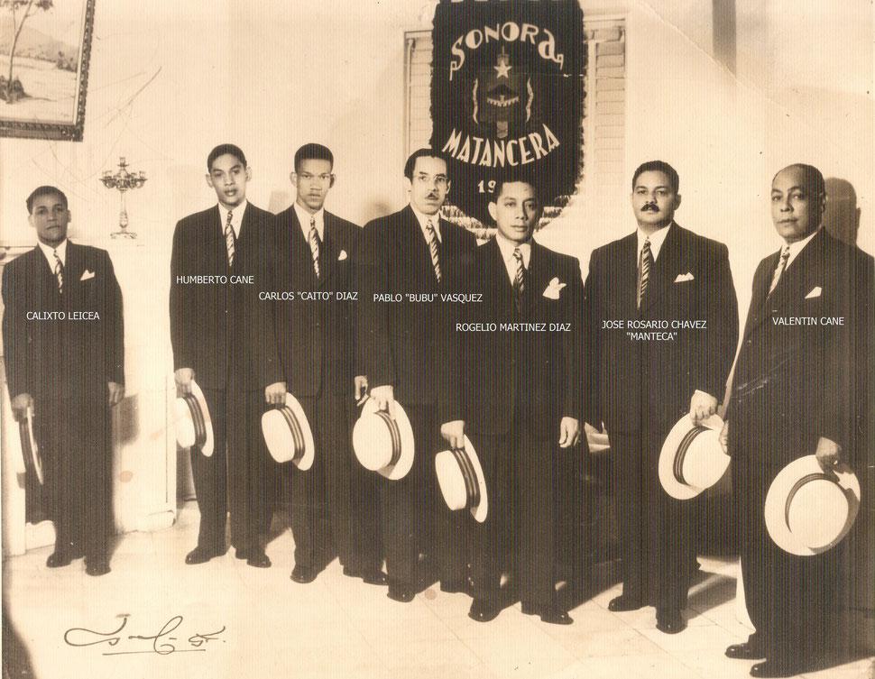 SONORA MATANCERA: EL DECANO DE LOS CONJUNTOS DE AMÉRICA - 1937
