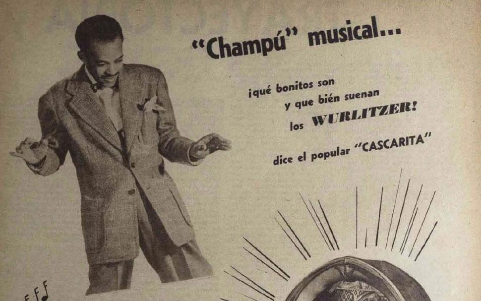 Cascarita en la Revista Bohemia - 21 de diciembre, en la plenitud de su popularidad - 1947.