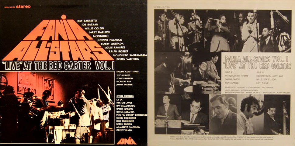 Fania - Live at the Red Garter Vol. 1.