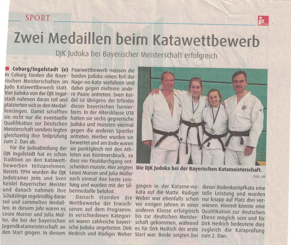 Judo Kata Meisterschaft Bayern 2016