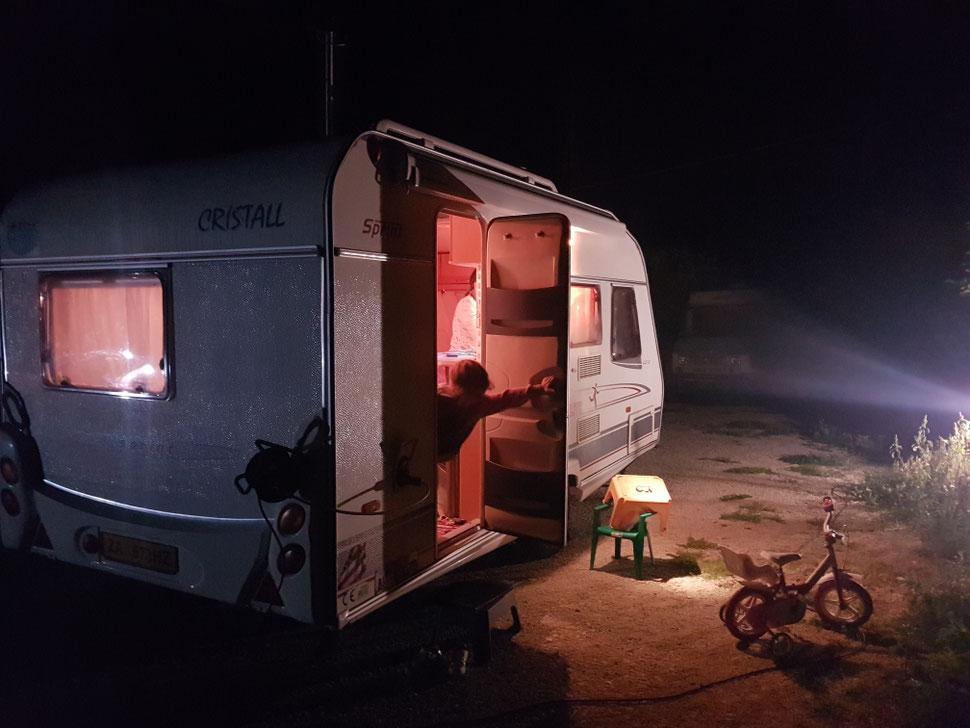 Area Di Sosta Per Camper CATANIA
