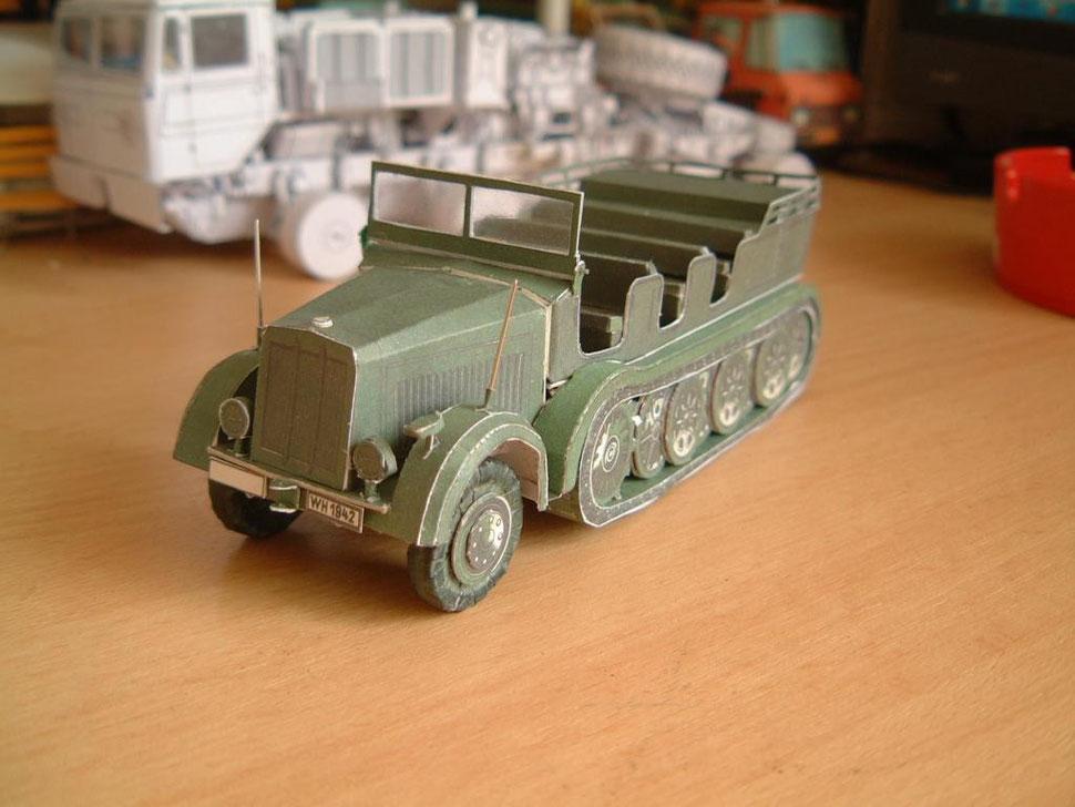 Die Bilder der wehrmachtsmodelle stammen von einem Modellbaufreund. A friend built these models.