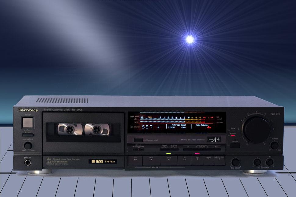Kassettendeck Technics RS-B905