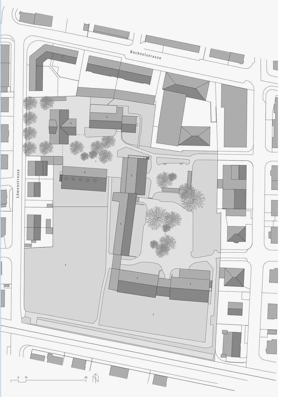 HoHopf & Wirth Architekten ETH HTL SIA Winterthur, Neubau Erweiterung / Umbau Schulanlage Feld, Winterthur