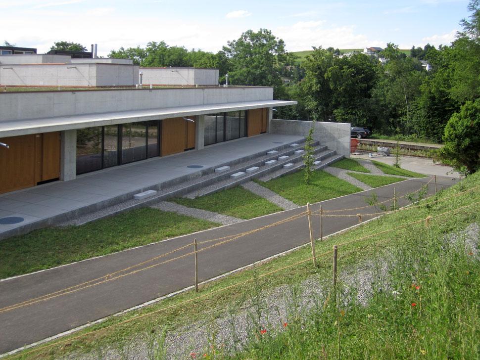 Hopf & Wirth Architekten Winterthur, Ernst Gisel, Erweiterung Schulhaus Steinboden Eglisau, Schulgemeinde Eglisau