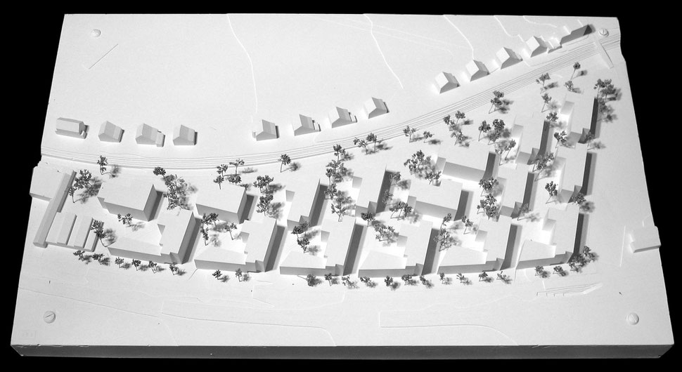 Hopf & Wirth Architekten ETH HTL SIA Winterthur, Wettbewerb Wohnüberbauung Scheco-Areal (Talwiesen) Winterthur