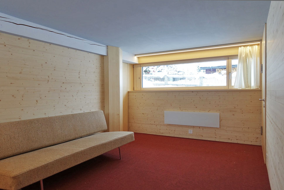 Ferienstudio Sörenberg Hopf & Wirth Architekten