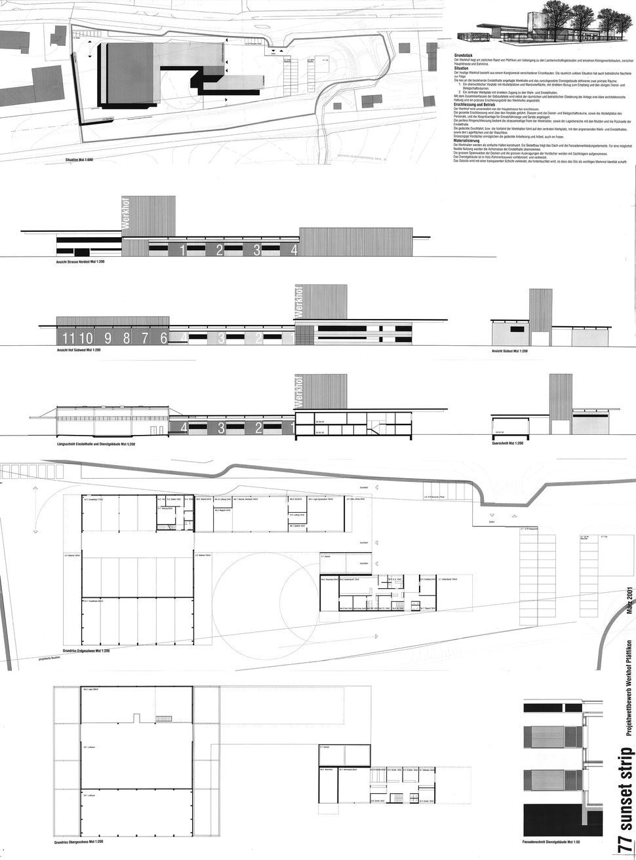 Wettbewerb Werkhof Pfäffikon Zürich, Hopf & Wirth Architekten Winterthur