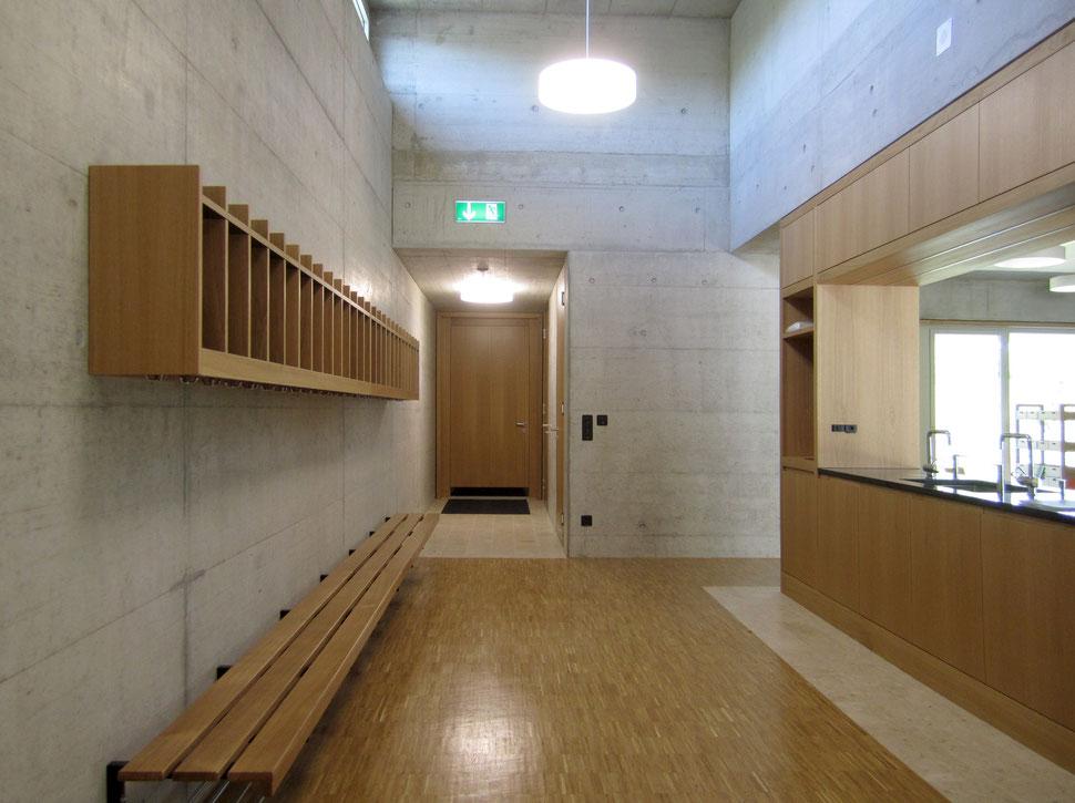 Hopf & Wirth Architekten Winterthur, Ernst Gisel, Erweiterung Schulhaus Steinboden Eglisau