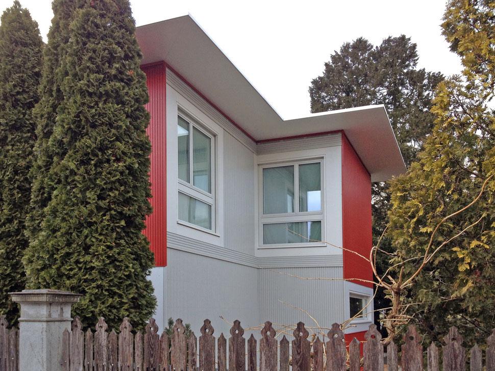 Hopf & Wirth Architekten ETH HTL SIA Winterthur, Erweiterung Neubau Pension Bugatti, Winterthur