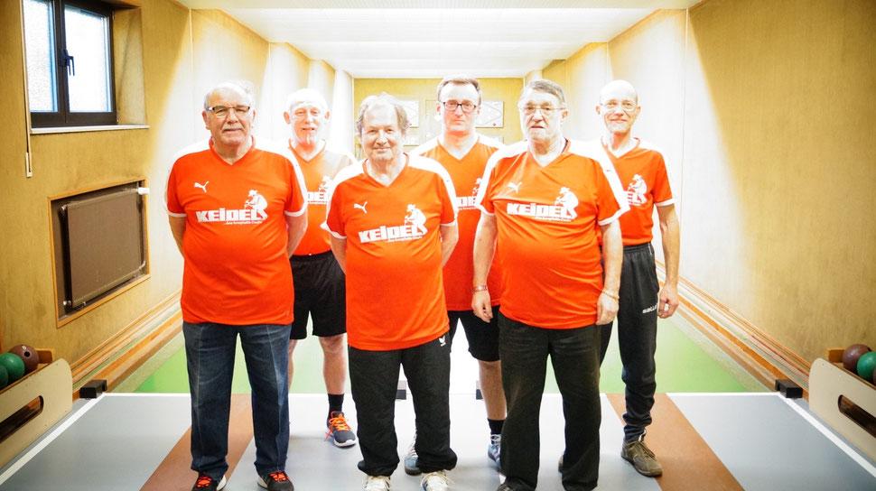 Walter Wiesner, Günter Sternheimer, Hermann Karg, Norbert Vogel, Hans-Jürgen Esser, Christian Liebler