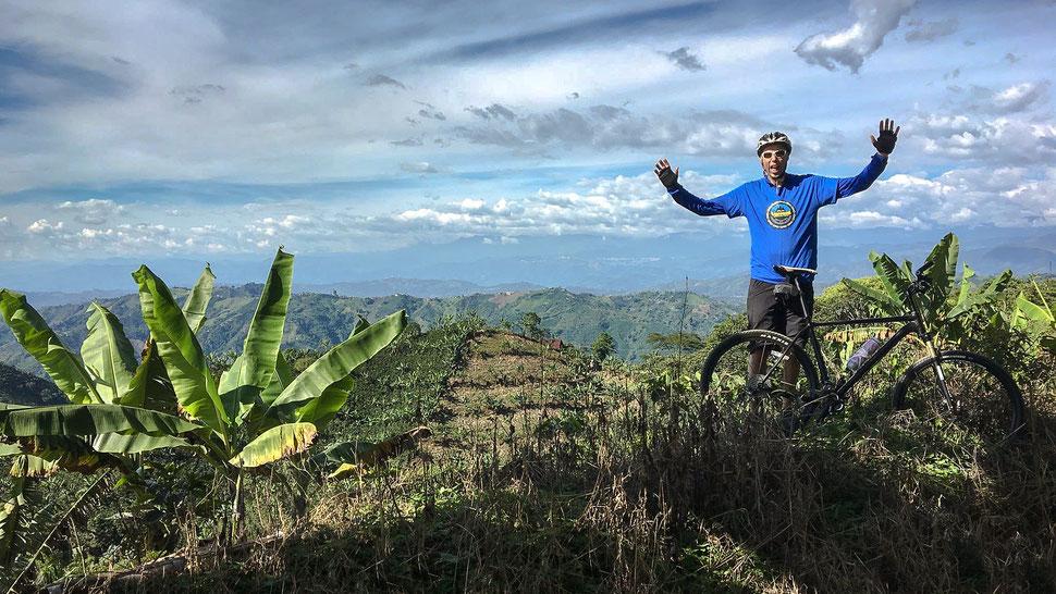 Touren Mountainbike individuell Kolumbien Natur Kaffeedreieck
