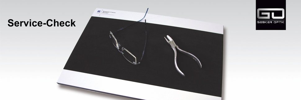 Service-Check vom Relaxed Vision Center Gronau - Gebker Optik