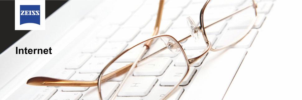 Brillen und Kontaktlinsen aus dem Internet