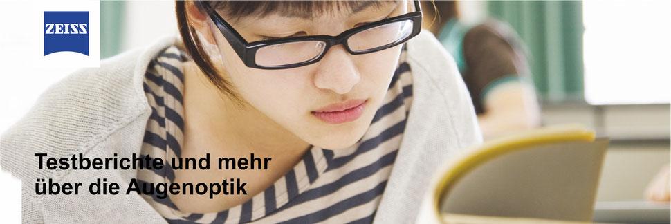 Testberichte und mehr über die Augenoptik