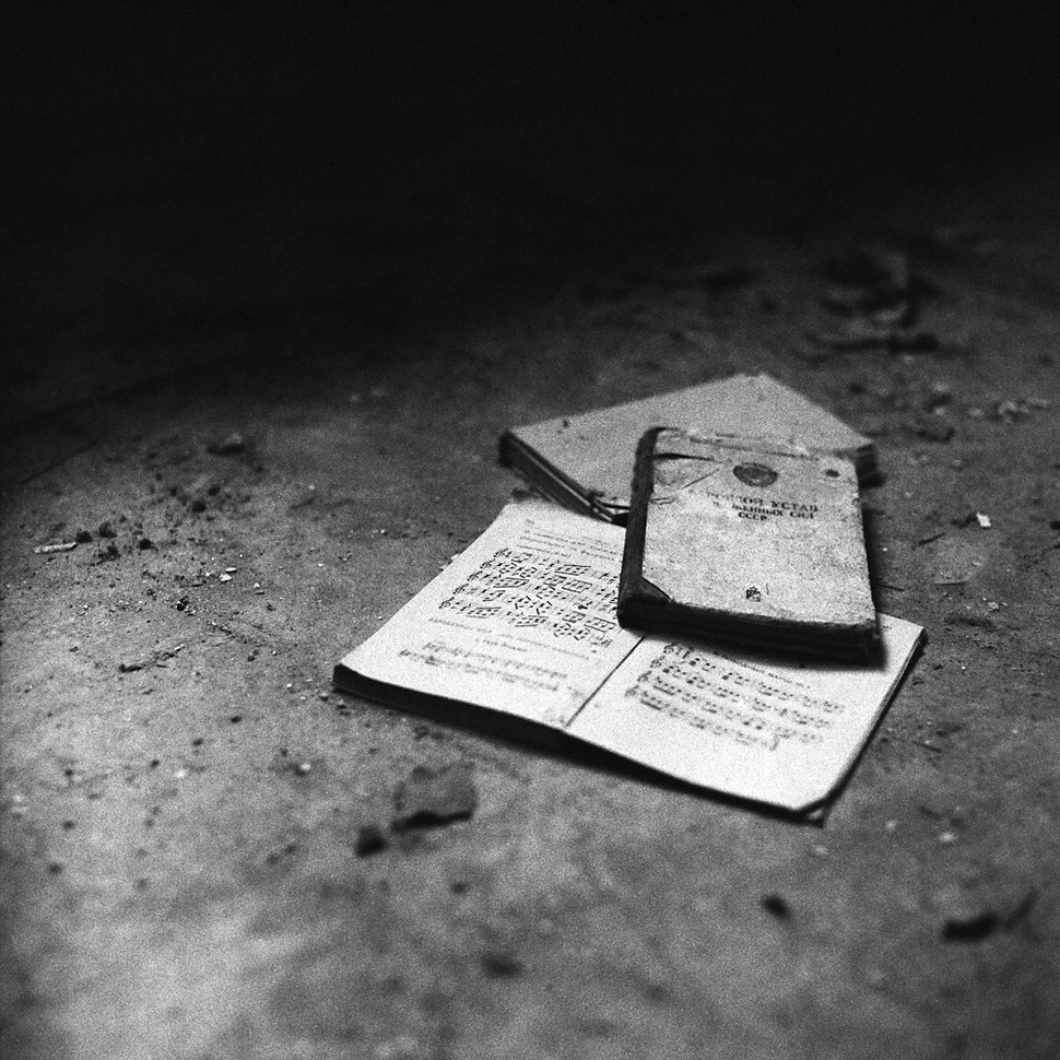 Made with my Kiev 88 (80mm/2.8 lens) on Ilford Delta 3200, developed with Adonal - taken in a lost place in Brandenburg/Germany