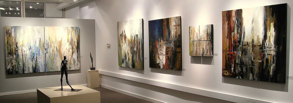 """Urban Abstracts"", 2004, solo show North Beach Gallery, San Francisco"
