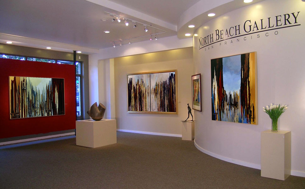 """Urban Landscapes"", solo show, San Francisco 2007"