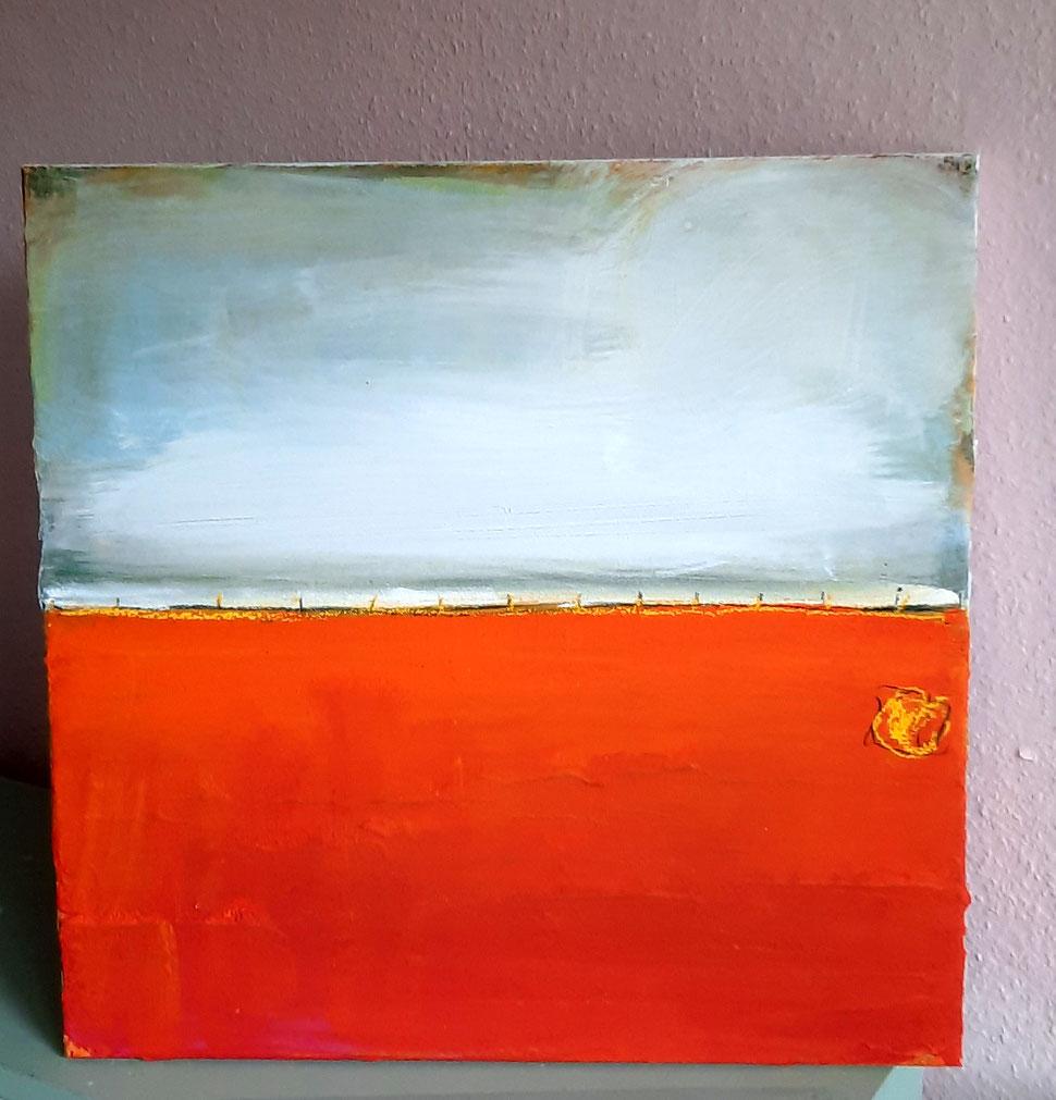 bild orange Landschaft