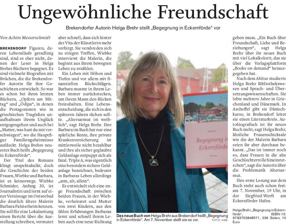 Begegnungen in Eckernförde, Helga Brehr