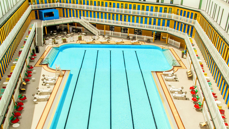 Best pools in Europe - Molitor in Paris