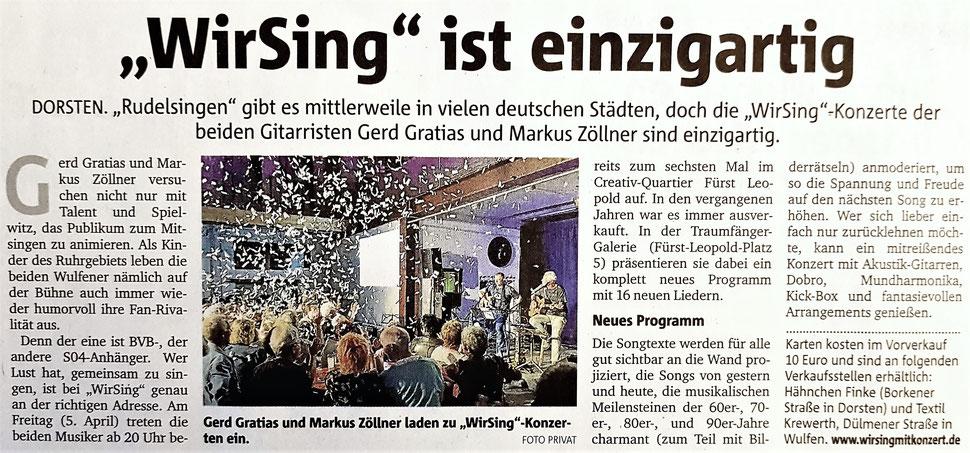 Dorstener Zeitung 07.03.2019