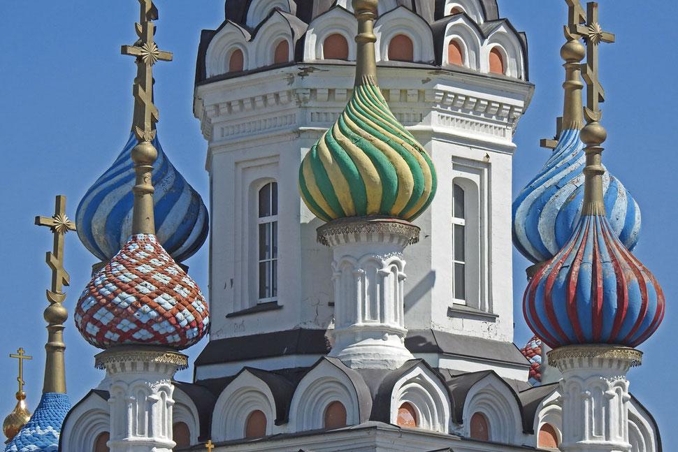 """Kirche der Gottesmutter-Ikone """"Lindere mein Leid"""" in Saratow"""