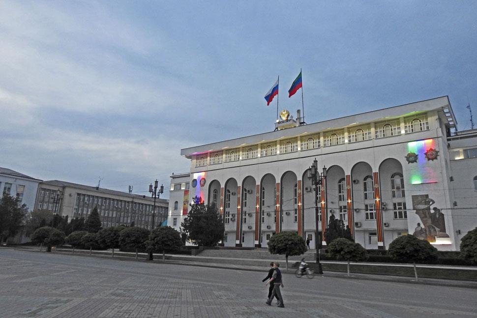 Lenin-Platz Machatschkala in Dagestan