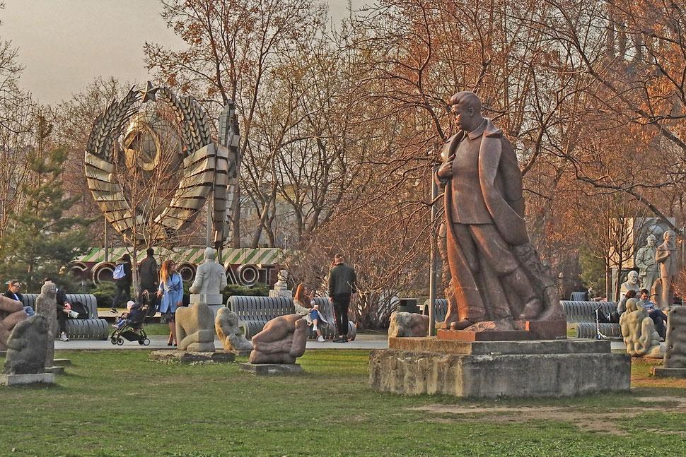 Museon-Skulpturenpark in Moskau