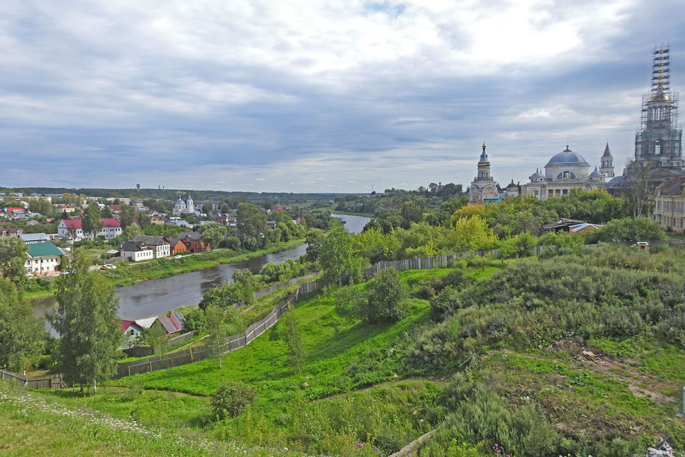 Panorama der Stadt Torschok im Gebiet Twer