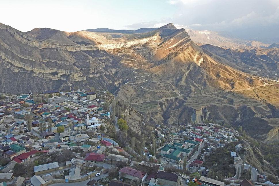 Gunib in Dagestan Kaukasus Гуниб Дагестан
