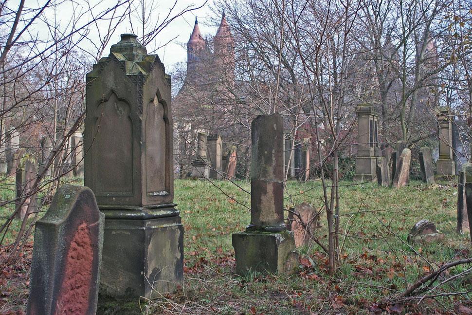 Еврейское кладбище Вормс Святые пески