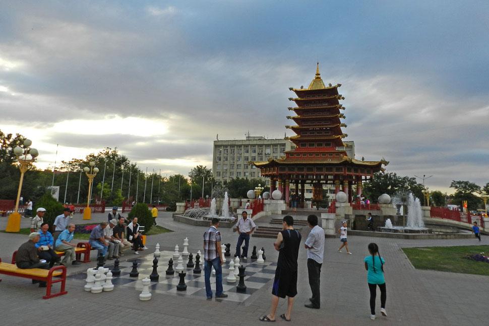 Elista Schachspieler Pagode