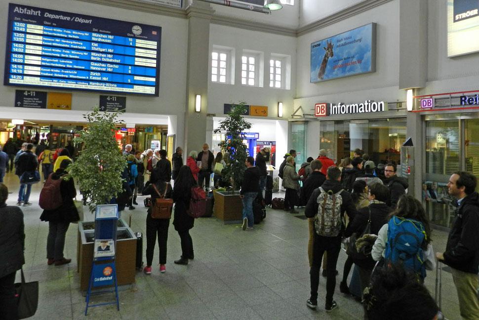 Геттинген вокзал