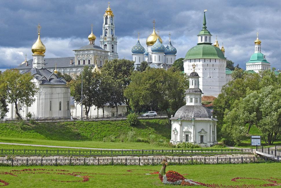 Das Dreifaltigkeitskloster in Sergijew Possad Russland