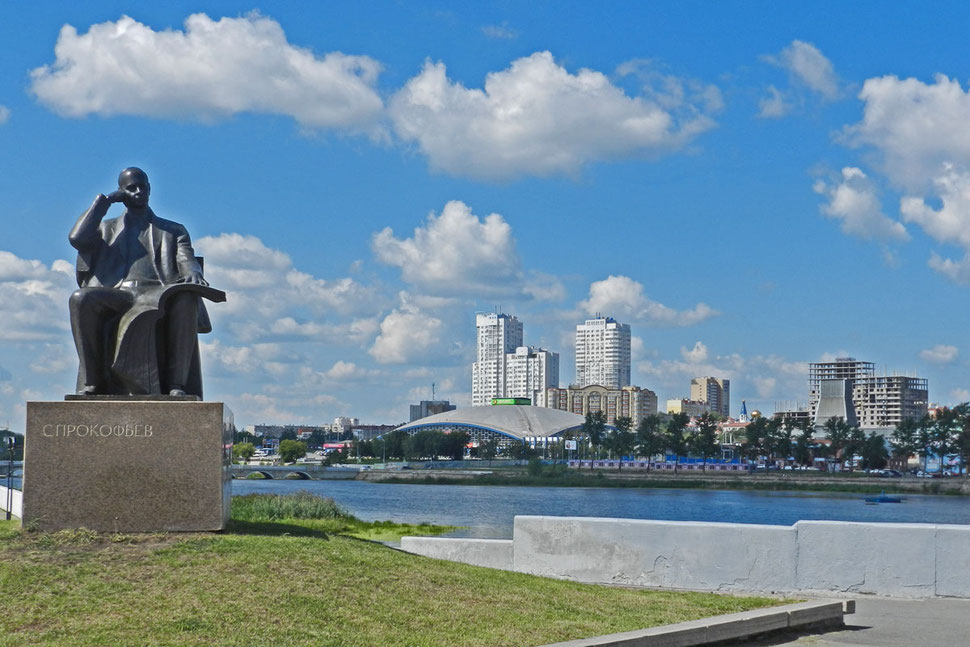 Tscheljabinsk Prokofjew-Denkmal