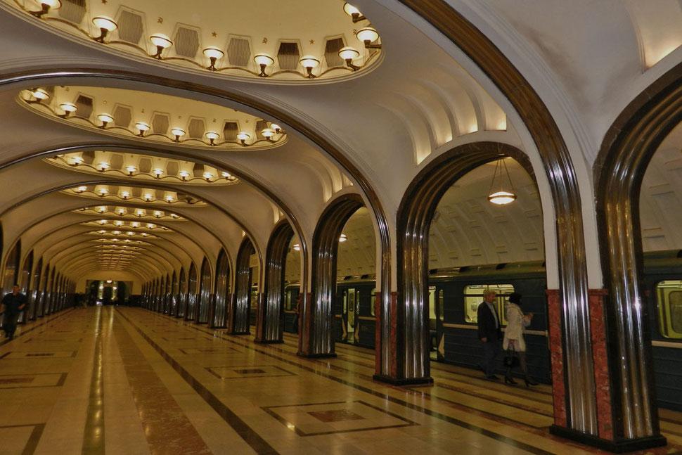 Metro Majakowskaja Moskau