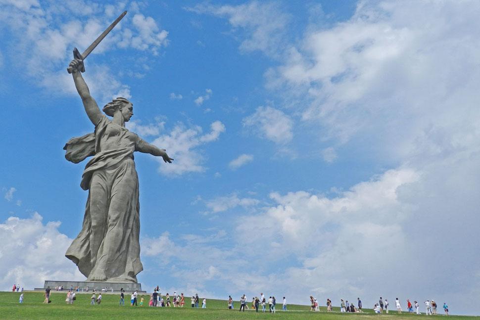 Mutter Heimat ruft Wolgograd Stalingrad Мамаев Курган Волгоград