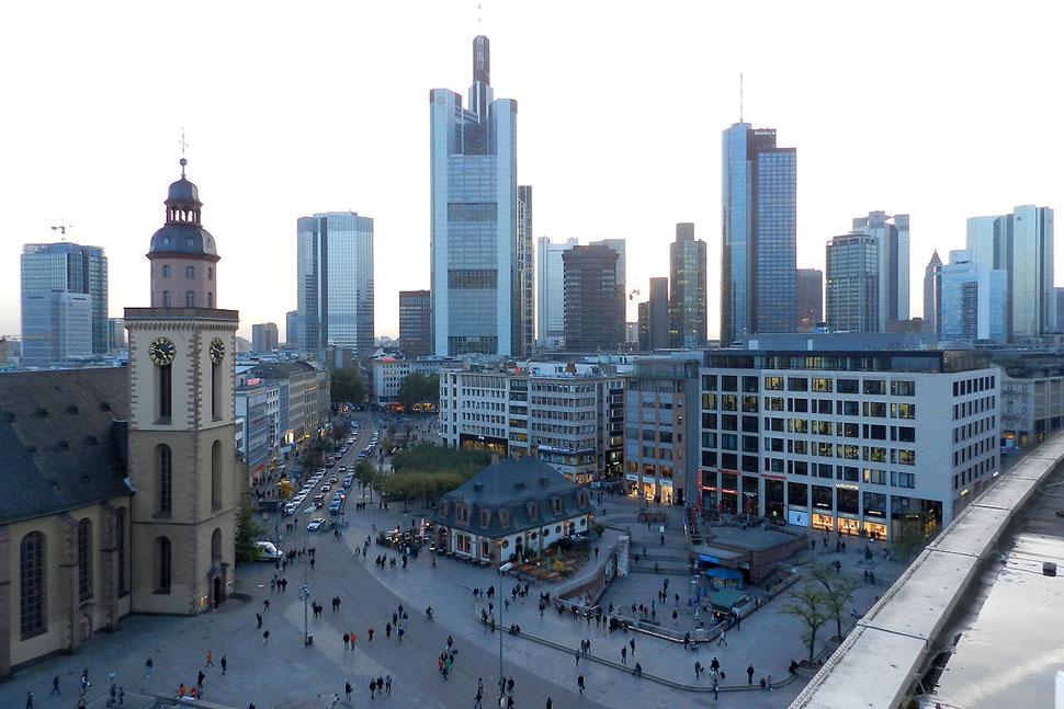 Высотки в Франкфурте-на-Майне