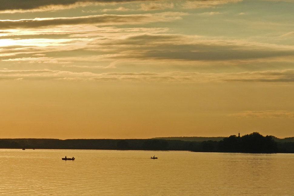 Sonnenuntergang Wolga Kasan